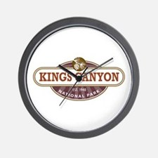 Kings Canyon National Park Wall Clock