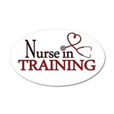 Nurse in Training Wall Decal