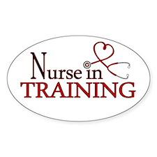 Nurse in Training Decal