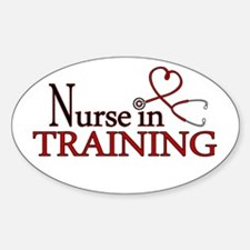 Nurse in Training Decal