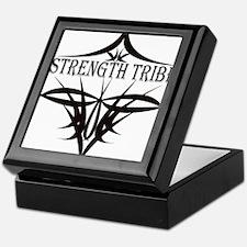 StrengthTribeLogo1black Keepsake Box