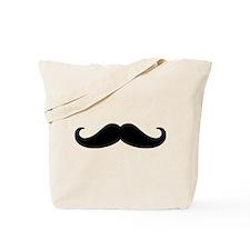 Mustache Beard Tote Bag