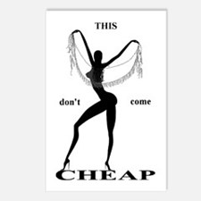 It's NOT Cheap! - Postcards (Package of 8)