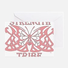 TribeButterfly1pink Greeting Card