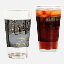 801r2) Let Snow Dec 09  247 copy Drinking Glass