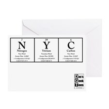 NYC White BG +Logo Greeting Card