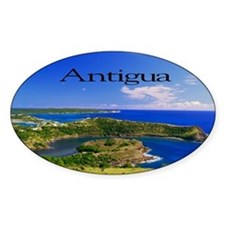 Antigua5.5x3.5 Bumper Stickers