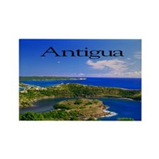 Antigua5.5x3.5 Rectangle Magnet