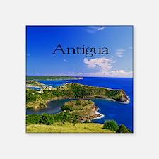 """Antigua15.35x15.35 Square Sticker 3"""" x 3"""""""