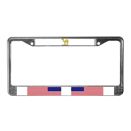 Happy hump day 2 License Plate Frame