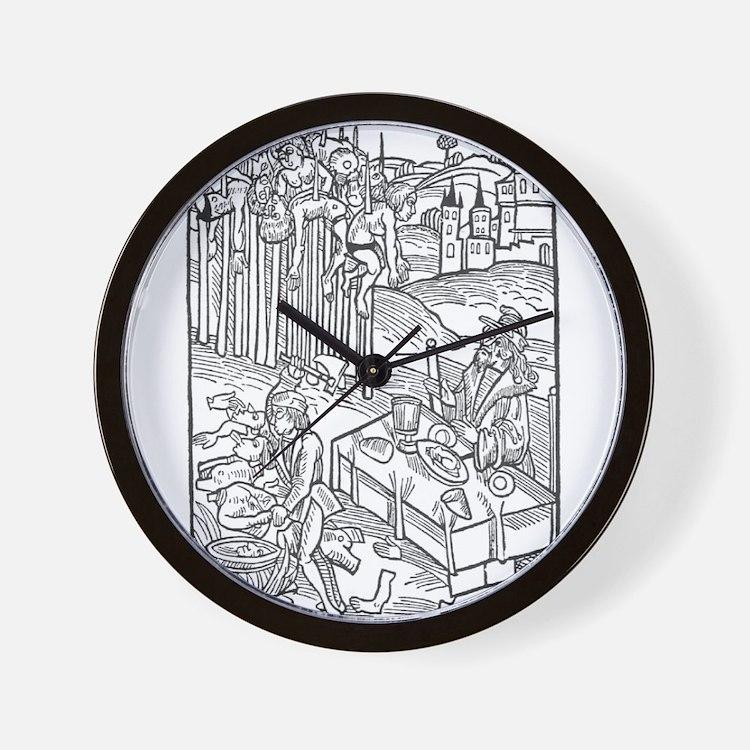 Vlad the Impaler Wall Clock