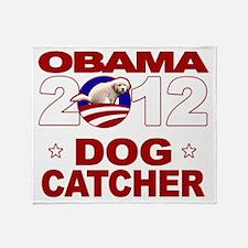 Dogcatcher 2012 darks Throw Blanket