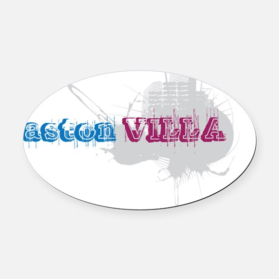 aaa5 Oval Car Magnet