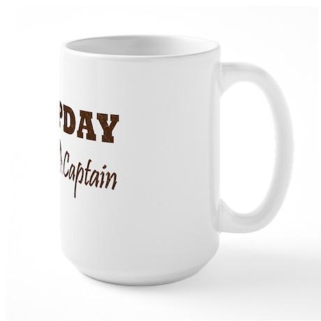 Hump Day Team Captain Large Mug