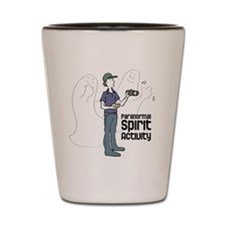 ghosts-with-investigator Shot Glass