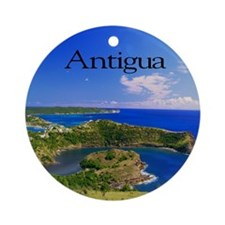 Antigua11x11 Round Ornament