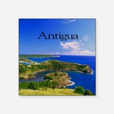 """Antigua11x11 Square Sticker 3"""" x 3"""""""