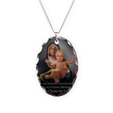 (5x7) long-shot - Virgin Prese Necklace Oval Charm