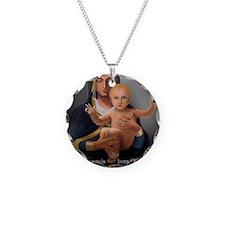 (5x7) long-shot - Virgin Pre Necklace Circle Charm