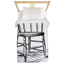 Une chaise(chair) Twin Duvet