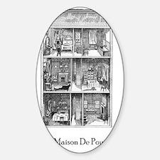 Une maison de poupee(dollhouse) Decal