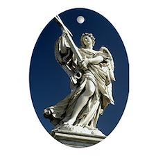 Ponte Sant' Angelo 1 Oval Ornament