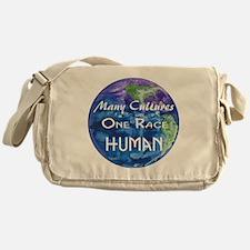 Earth illustration Messenger Bag