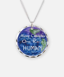 Earth illustration Necklace