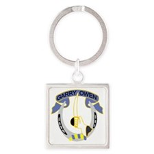 7th Cavalry Regiment-Color Square Keychain
