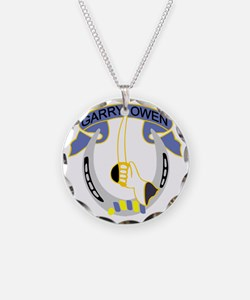 7th Cavalry Regiment-Color Necklace