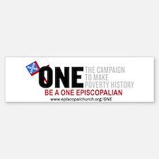 ONE Episcopalian Bumper Bumper Bumper Sticker