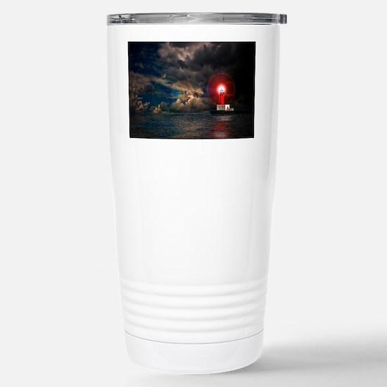 new lighthouse framed Stainless Steel Travel Mug