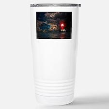 new lighthouse framed Travel Mug