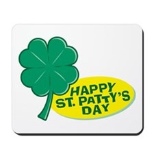 Happy St. Patty's Day Mousepad