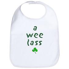 a wee lass Bib