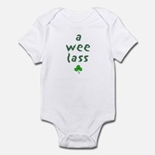 a wee lass Infant Bodysuit