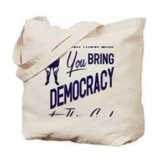 Democracy Light Tote Bag