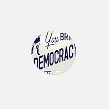 Democracy Light Mini Button