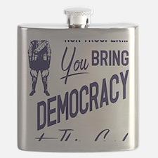 Democracy Light Flask