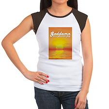 Goddamn ii Women's Cap Sleeve T-Shirt