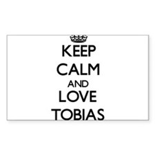Keep Calm and Love Tobias Decal