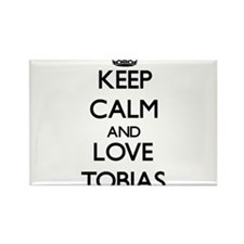 Keep Calm and Love Tobias Magnets