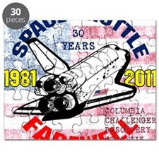Space Shuttle_Farewell_10x10in_1_1 Puzzle