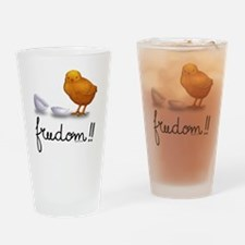 Freedom Drinking Glass