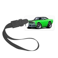 1970 Roadrunner Green-Black Top Luggage Tag