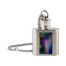 Lexi Journal Cover Flask Necklace
