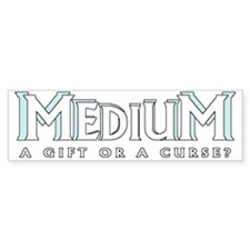Medium curse light Bumper Sticker