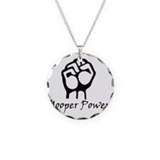 Blk_Yooper_Power_Fist.gif Necklace