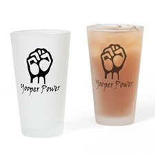 Blk_Yooper_Power_Fist.gif Drinking Glass