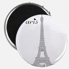 EiffelTower_10x10_apparel_BlackOutline Magnet